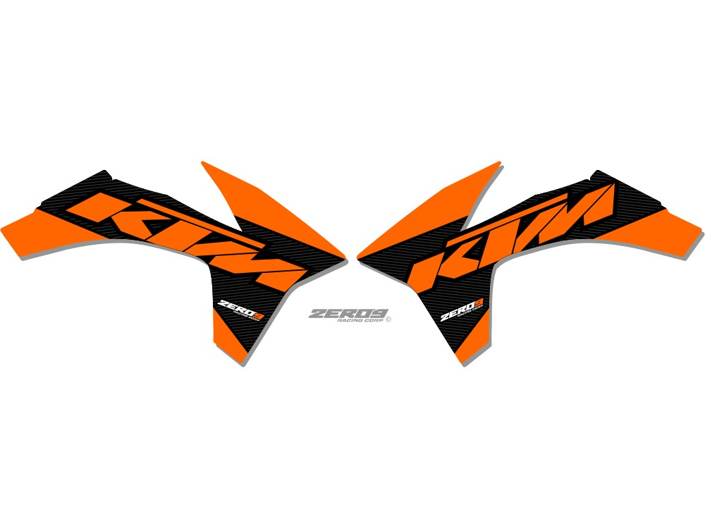 Ktm Radiator Shroud Graphics